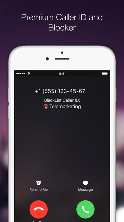 BlackList PRO: call blocker