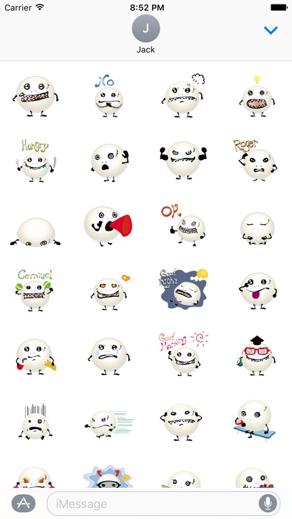 Lovely Monster Stickers