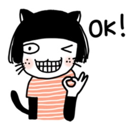 Meow meow stickers for iMessage