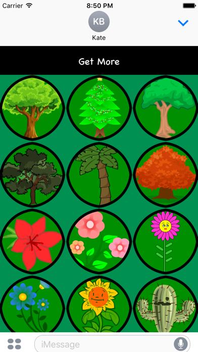 点击获取Tree Stickers For iMessage