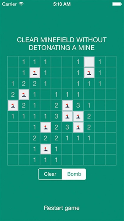 Minesweeper game for you