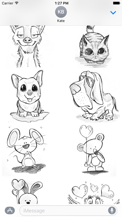 Cute Puppies Stickers for iMessage screenshot-4