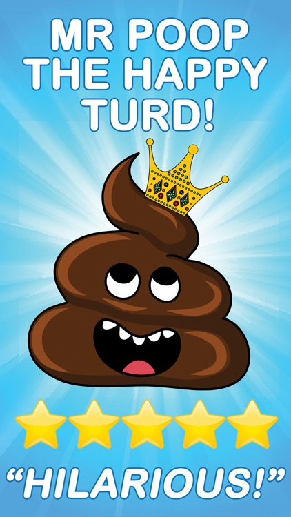 Mr Poop & The Happy Turds Stickers
