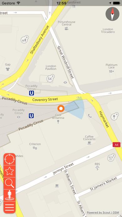 Screenshot of Magonza Mappa Offline e Guida Turistica3