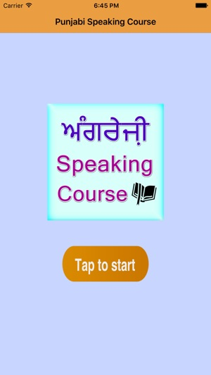 Best Punjabi English speaking course on the App Store