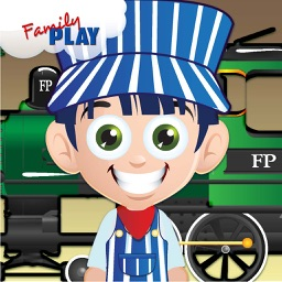 Locomotives: Train Puzzles for Kids