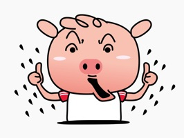 Nasty Piglet - Funniest Stickers Ever for iMessage