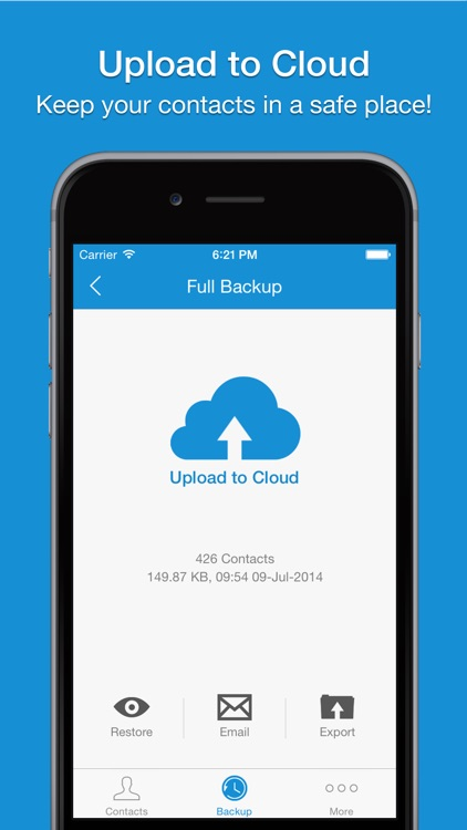 Easy Backup Pro - Contacts Backup Assistant screenshot-3