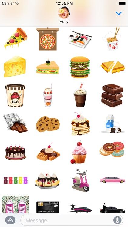 BFF Essentials – Girly Emoji Stickers for iMessage