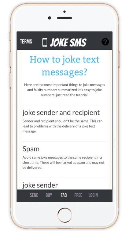 SMS Joke