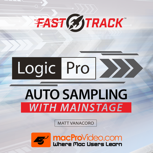 FastTrack™ For Auto Sampling with MainStage