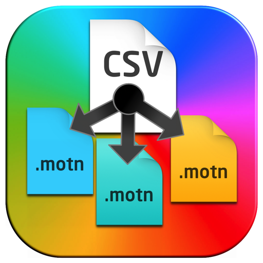 Csv to Motn Generator