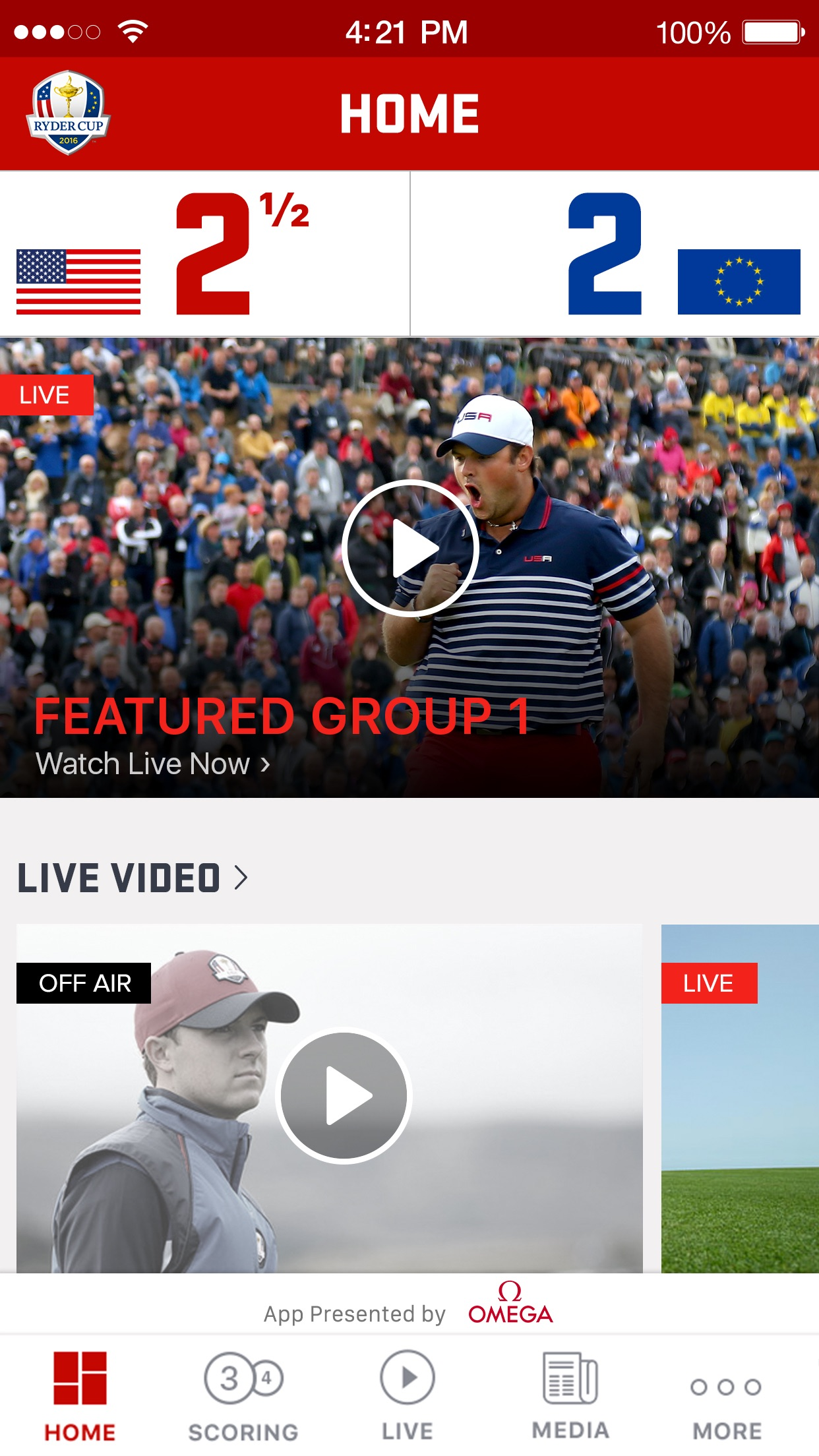 Ryder Cup 2016 – Hazeltine National Golf Club Screenshot