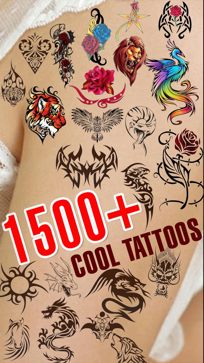 Virtual Tattoo on Body - Get Inked Art Tattoos Screenshot