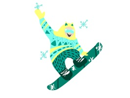 Snowboard & Ski Stickers
