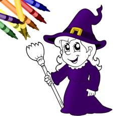 Activities of Halloween Coloring Book!
