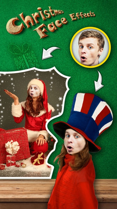 Christmas Face Effects FREE - Turn Yourself into Santa Claus