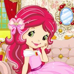 Fraise Princesse Mode Dress Up Enfants Rêves