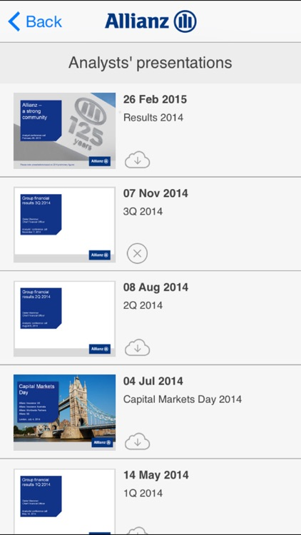 Allianz Investor Relations HD screenshot-3