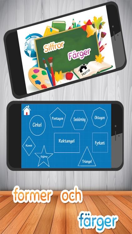 Barn lärande spel - Svenska Alfabetet screenshot-3