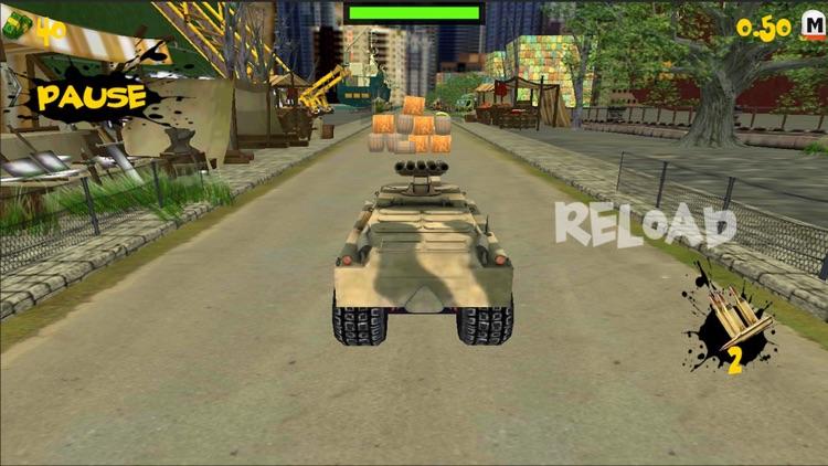 Crazy Tank Racing 3D screenshot-4