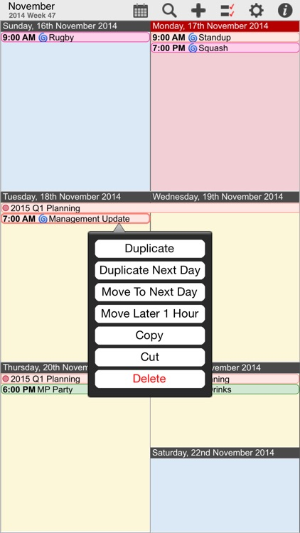 myCal PRO: Calendar & Event Organizer screenshot-2