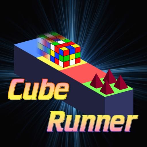 Cube magic runner in the lands of dark sky iOS App