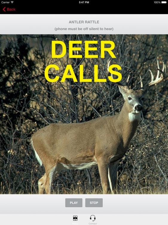 Deer Calls and Deer Sounds for Deer Hunting