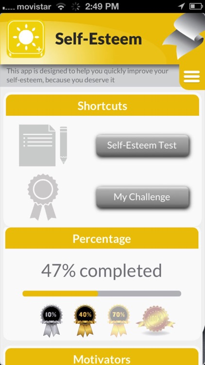 Self Esteem: To improve self-belief & confidence screenshot-1