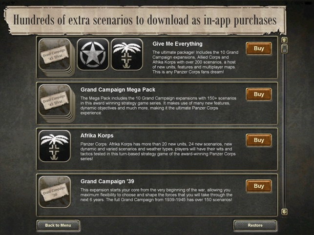 Panzer Corps Screenshot