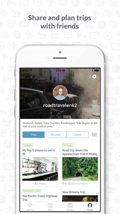 Roadtrippers - Trip Planner screenshot-4