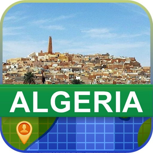 Offline Algeria Map - World Offline Maps