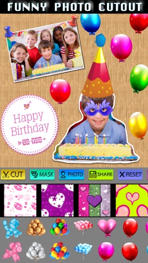 Happy Birthday Frame + Collage on the App Store
