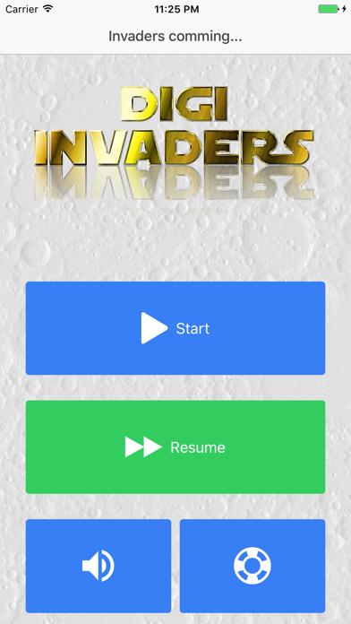 Digi Invaders screenshot four