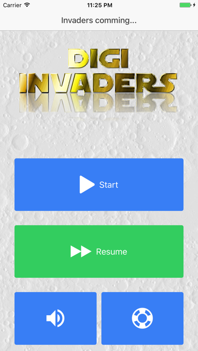 Digi Invaders screenshot four
