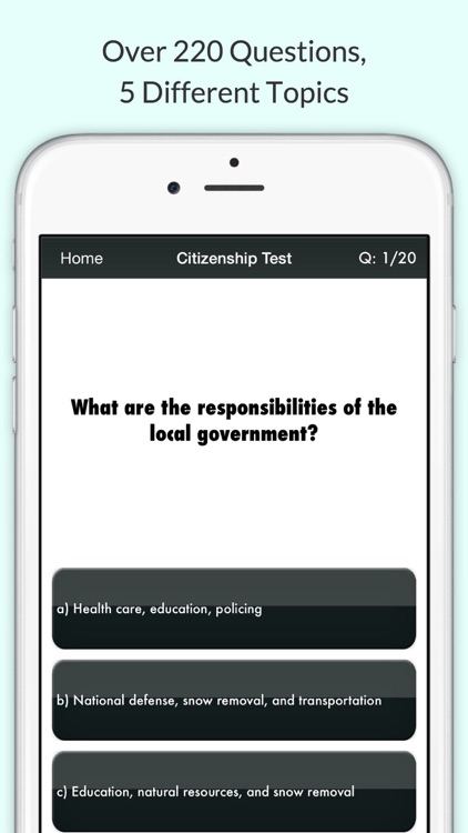 Canadian Citizenship Test 2017 Pro with Audio