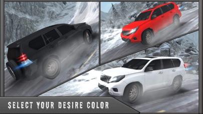 雪の 3 D シミュレータ運転 - 4 x 4 プラド ドライバー ゲームのおすすめ画像3