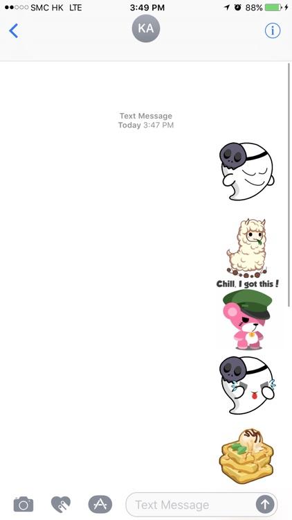 Chibi Sticker - Animated Stickers + Bakery Pack screenshot-3