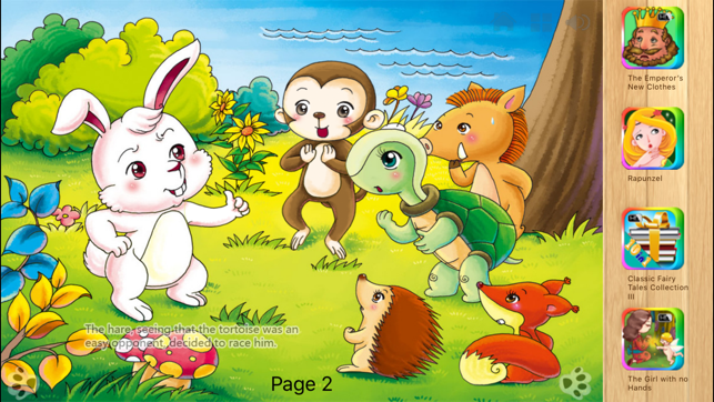 ‎The Tortoise and the Hare - Fairy Tale iBigToy Screenshot