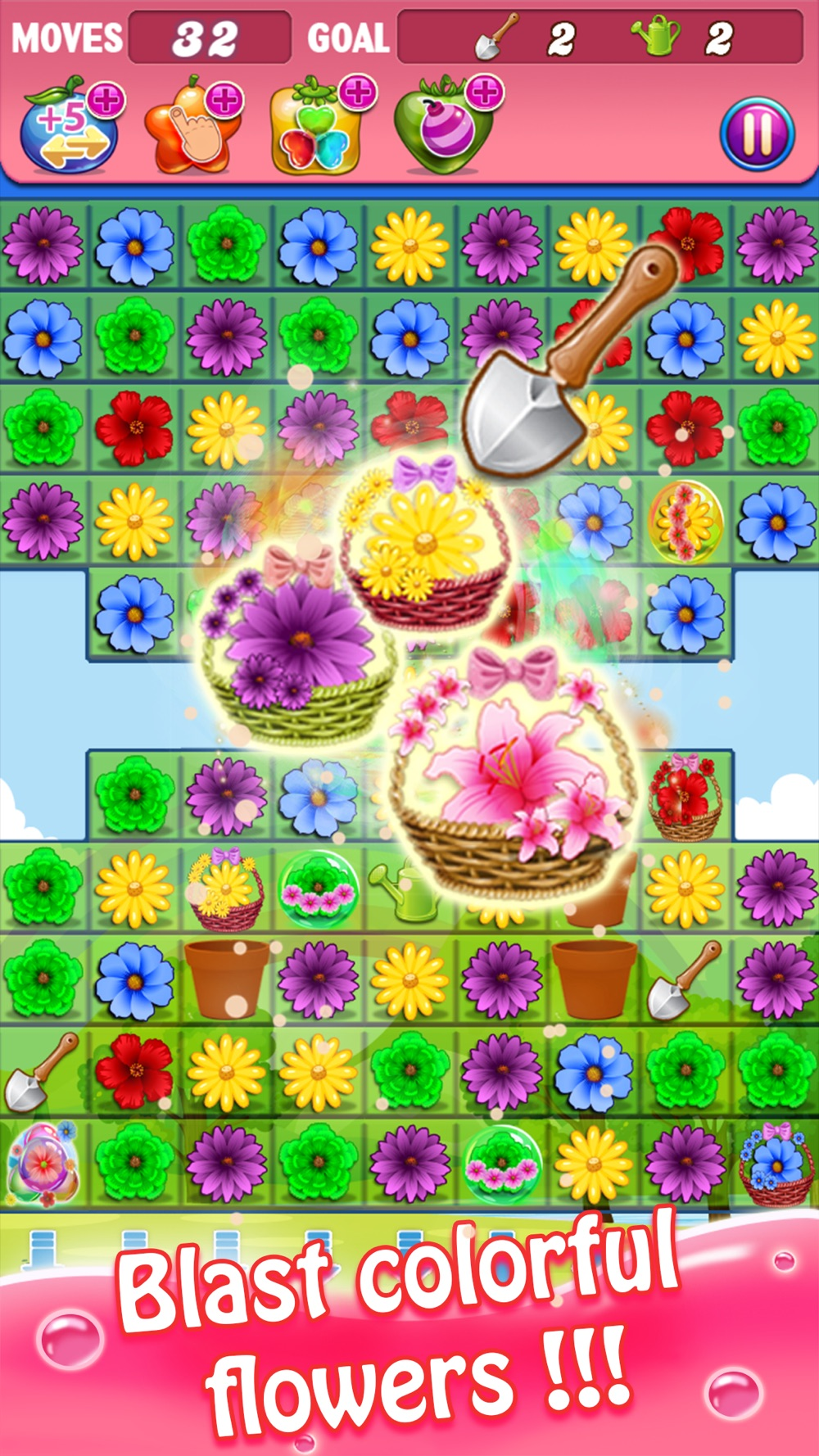 Blossom Swap - Free Flower Link Paradise Games hack tool
