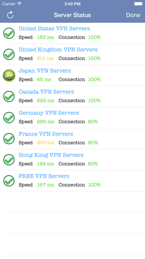 ‎VPN Express - Free Mobile VPN Capture d'écran