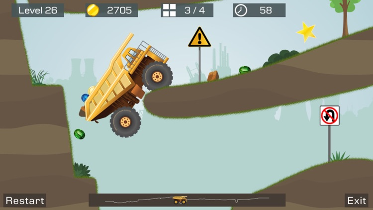 Big Truck -Mine Express Racing screenshot-3