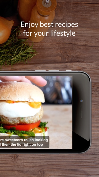 Burger Recipes: Food recipes, healthy cooking screenshot-4