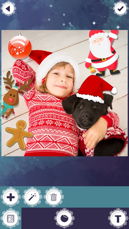 Winter Photo Stickers – Christmas Picture Editor screenshot-3