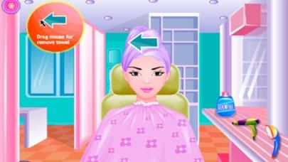 喜爱宝贝的头发:公主小游戏 screenshot one