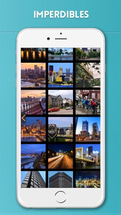 Pittsburgh Guía de Viaje con Mapa OfflineCaptura de pantalla de4