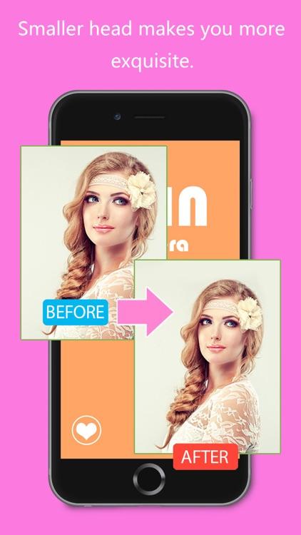Thin Camera - Insta Face Makeup Slim Skinny Photo