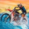 汚れ自転車モトクロス波のラリー - ジェットスキーレースゲーム