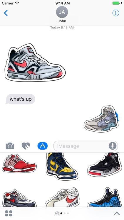 Sneakers Sticker Pack!