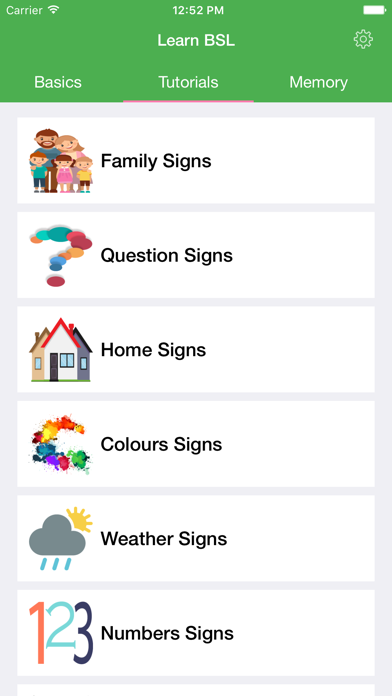 BSL British Sign Language screenshot three